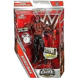 WWE serie Elite 48 Action Figure - L'uomo Nero Con Accessori Nuovo In Scatola