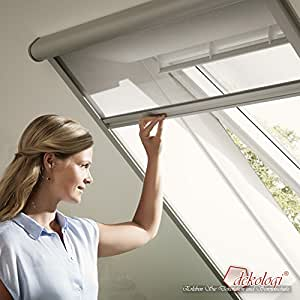 velux insekt schutzrollo zil sk06 8888 schwarz transparent pg standard baumarkt. Black Bedroom Furniture Sets. Home Design Ideas