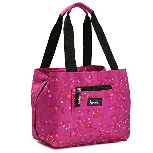 nicole-miller-of-new-york-insulated-lunch-cooler-di-nouveau-magenta-11-pranzo-tote-by-nicole-miller