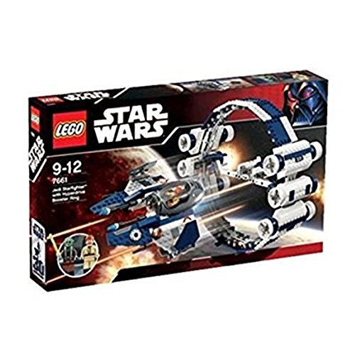 LEGO Star Wars 7661 - Jedi Starfighter mit Hyperdrive Booster Ring (Star Wars Lego-jedi Mit)