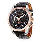 Longines Conquest L27985523 Montre chronographe Automatique pour Homme Cadran Noir