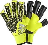 adidas Ace Fingersave Pro Torwarthandschuhe, Solar Yellow/Black/Semi Solar Yellow, 7.5