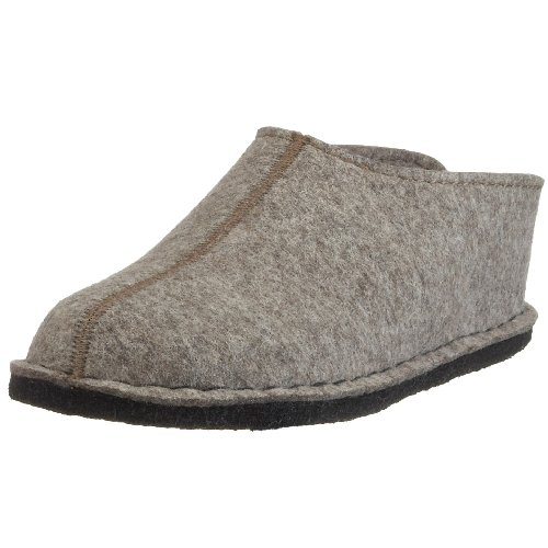 Haflinger Smily, Chaussons Mixte Adulte Beige (550 Torf)