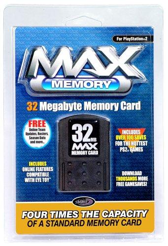 Playstation 2 - Memory Card 32MB MAX Memory