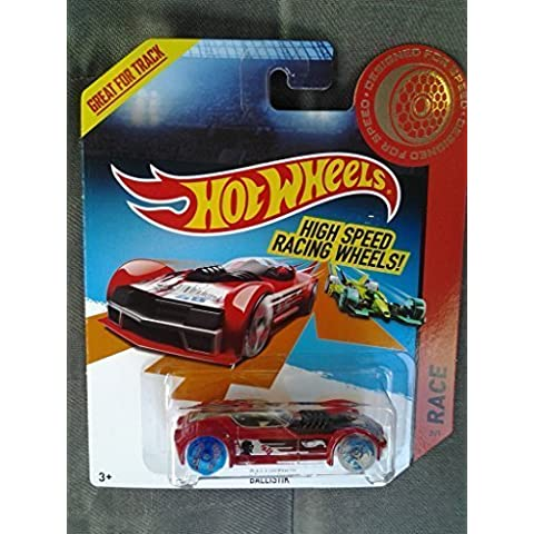 Hot Wheels Ballistik Race High Speed 2/25 Car Bdw18 by Mattel
