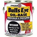 Rust-Oleum 3541 Zinsser Bulls Eye Oil-Base Primer (White - 3.78 Liters)