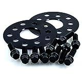 TuningHeads/H&R .0478616.DK.B10255571.POLO-TYP-6R Spurverbreiterung Blackline, 10 mm/Achse + Radschrauben, 10 mm/Achse