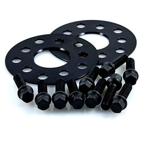Preisvergleich Produktbild TuningHeads / H&R .0477076.DK.B655665.SL-TYP-230 Spurverbreiterung Blackline,  6 mm / Achse + Radschrauben,  6 mm / Achse