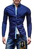 BOLF - Chemise casual - à manches longues - BOLF 4727 - Homme