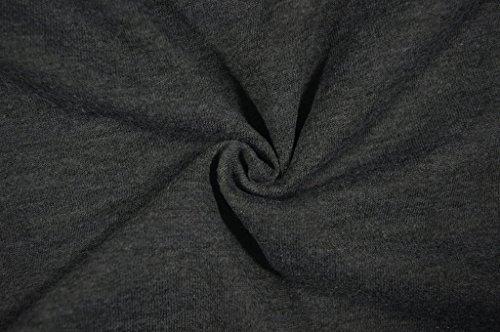 Junshan Femme Tunique Tops Long Bandage Manches Ouvertes Chandail à Capuchon Torse à Manches Longues Chemise Encolure Casual Loose S-4XL Noir