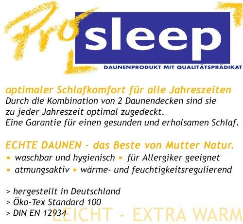 Hanskruchen Pro Sleep vier Jahreszeitendecke, Baumwolle, 155 x 220 cm