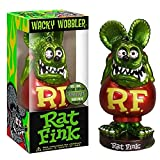 hotrodspirit - figurine rat fink tete vert métal corp rouge bobble head usa