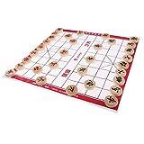 D DOLITY Chinesisches Schach Spiel für Erwachsene und Kinder - Schach Durchmesser 2,7 cm
