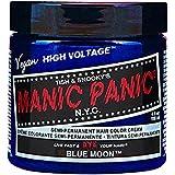 Manic Panic High Voltage Classic Coloration Cheveux Semi Permanente Vibrante 118ml (Blue Moon - Bleu)