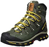 Salomon L39027100, Stivali da Escursionismo Alti Uomo, Grigio (Tempest/Night Forest/Maize), 43 1/3 EU