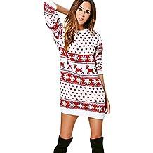 immagini dettagliate taglia 40 60% economico Amazon.it: Vestiti Per Natale - Bianco