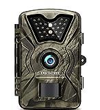 EARTHTREE Wildkamera, 12MP 1080P Full HD Jagdkamera Low Glow Infrarot 20m...