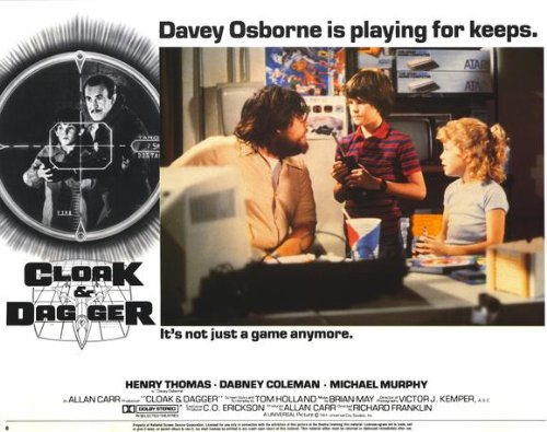 Cloak and Dagger Plakat Movie Poster (11 x 14 Inches - 28cm x 36cm) (1984) H