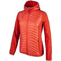 CMP Damen Fleece Jacke Fix Hood Hybrid Melange 3H21566
