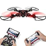 LiDi RC 6W RC Drone Quadcopter pieghevole con HD 720P macchina fotografica di WiFi e video dal vivo...