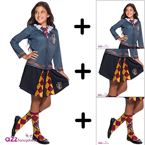 MFD Gryffindor Top + Skirt + Socks 5 - 7 (Gryffindor Uniform Kostüm)