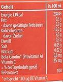 Hipp 100% Bio-Direkt-Säfte, Direktsaft Multifrucht mit Karotte, 6er Pack (6 x 330 ml)