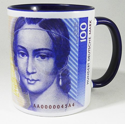 100-german-mark-deutsche-mark-bank-note-jarra-with-blue-glazed-handle-and-inner