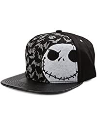 The Nightmare Before Christmas Bats and Skulls Adjustable Baseball Cap