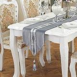 MAFYU Qualität Tischläufer Tabelle Tuch TV Schrank Bett Fahne Flagge Tischdecke 33 * 210cm