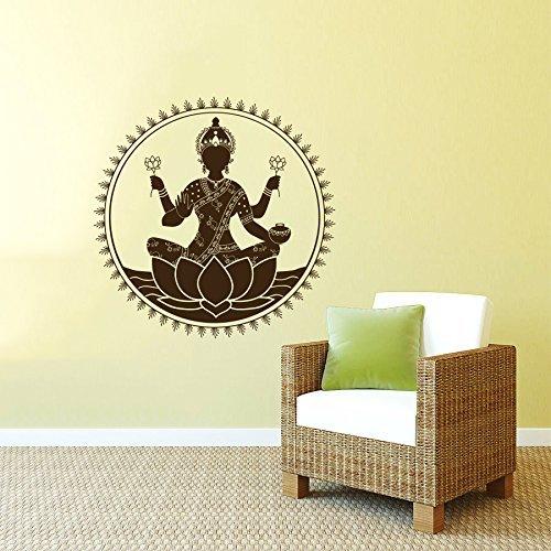 sticker-mural-autocollant-de-vinyle-stickers-art-interieure-decor-conception-murale-mehndi-lakshmi-i