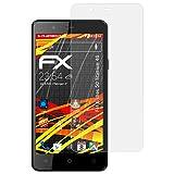 atFolix Schutzfolie kompatibel mit Archos 50 Titanium 4G Bildschirmschutzfolie, HD-Entspiegelung FX Folie (3X)