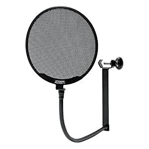 Stedman Proscreen XL–15cm metallo pop Screen e collo