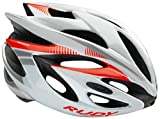 Rudy Project Rush Helmet White-Red Fluo (Shiny) Kopfumfang...