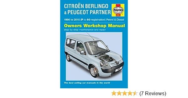 citroen berlingo multispace van 1996 2010 haynes manual amazon co rh amazon co uk manual de taller haynes citroën berlingo y peugeot partner pdf haynes manual citroen berlingo van