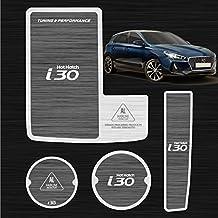 Patrón de aluminio bloque de dos taza soporte consola placa accesorios 3P para Hyundai Elantra GT