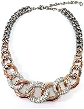 Swarovski Bound Halskette Rose Gold PVD 40cm ref 5089276