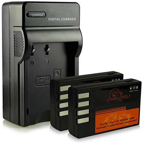 caricatore-2x-extremewolf-batteria-d-li109-per-pentax-k-2-k-s1-k-s2-k-30-k-50-k-500-k-r