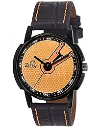 Ziera ZR7026 Super Stylish Black Strap Analog Watch - For Men