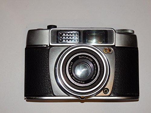 ADOX Kleinbildkamera mit Schneider-Kreuznach Objektiv Radionar L 1:2.8/45 PRONTOR 500 LK ## analoge Sucherkamera ## Sammlerstück by LLL ##