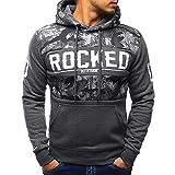 SuperSU Männer Patchwork Hoodie Kapuzen Pullover Sweatshirt Tops Jacke Mantel Retro Streetwear Langarm Shirt Hoodie Sweatshirt Oberteile Jacke Mantel Outwear Outwear Kapuzenpullover