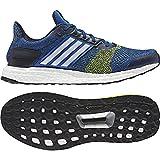 adidas Ultra Boost st m - Zapatillas de Running para Hombre, Azul - (Azul/FTWBLA/Amasol) 42 2/3