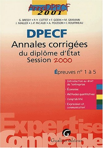 Anna Exp.Compta 2001 Dpecf 1/5
