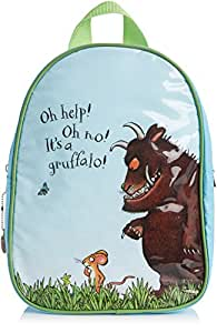 The Gruffalo Backpack for Children Age 3 Years (Blue and Green)