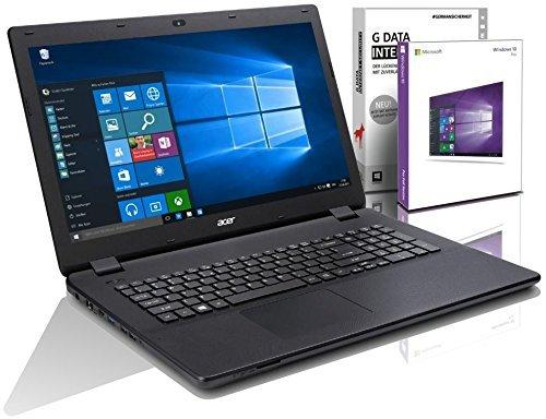 Acer Gaming Extensa 15 39,6 cm (15,6 Zoll) Notebook (Intel Core i5-7200U, 8GB RAM, 1000GB HDD, Intel HD Grafik 620, Windows 10 Prof) Schwarz, #5713