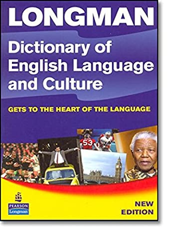Longman Dictionary of English Language and Culture Paper 3rd Edition