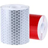 Best Reflective Tapes - Rovtop 2 Pack 50mm × 3 meter Adhesive Review