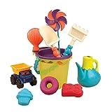 B. Toys 44194 - Ready Beach Bag, Sandspielzeug, Olive