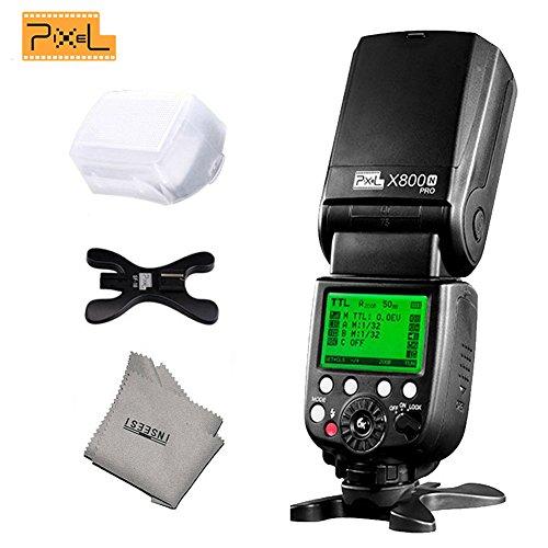 Pixel X800N PRO 1/8000s ITTL HSS Radio Flash Speedlite For Nikon d5100 d90 d7100 d3100 d5200 d5300 d7200 d750