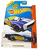 Hot Wheels - 2014 HW Race 159/250 - Nitro Doorslammer (blue) by Mattel