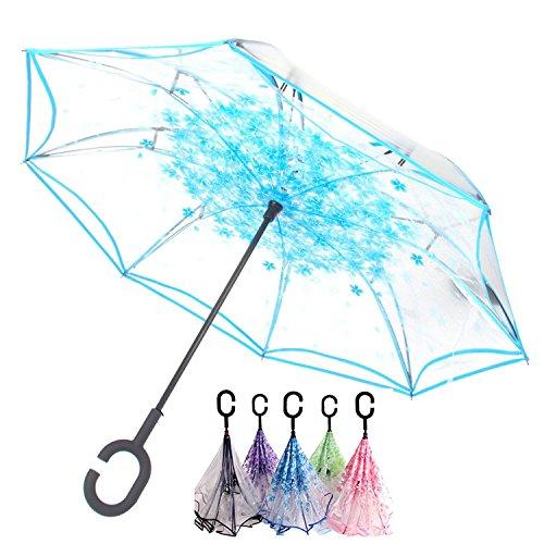 Paraguas Invertido Transparente